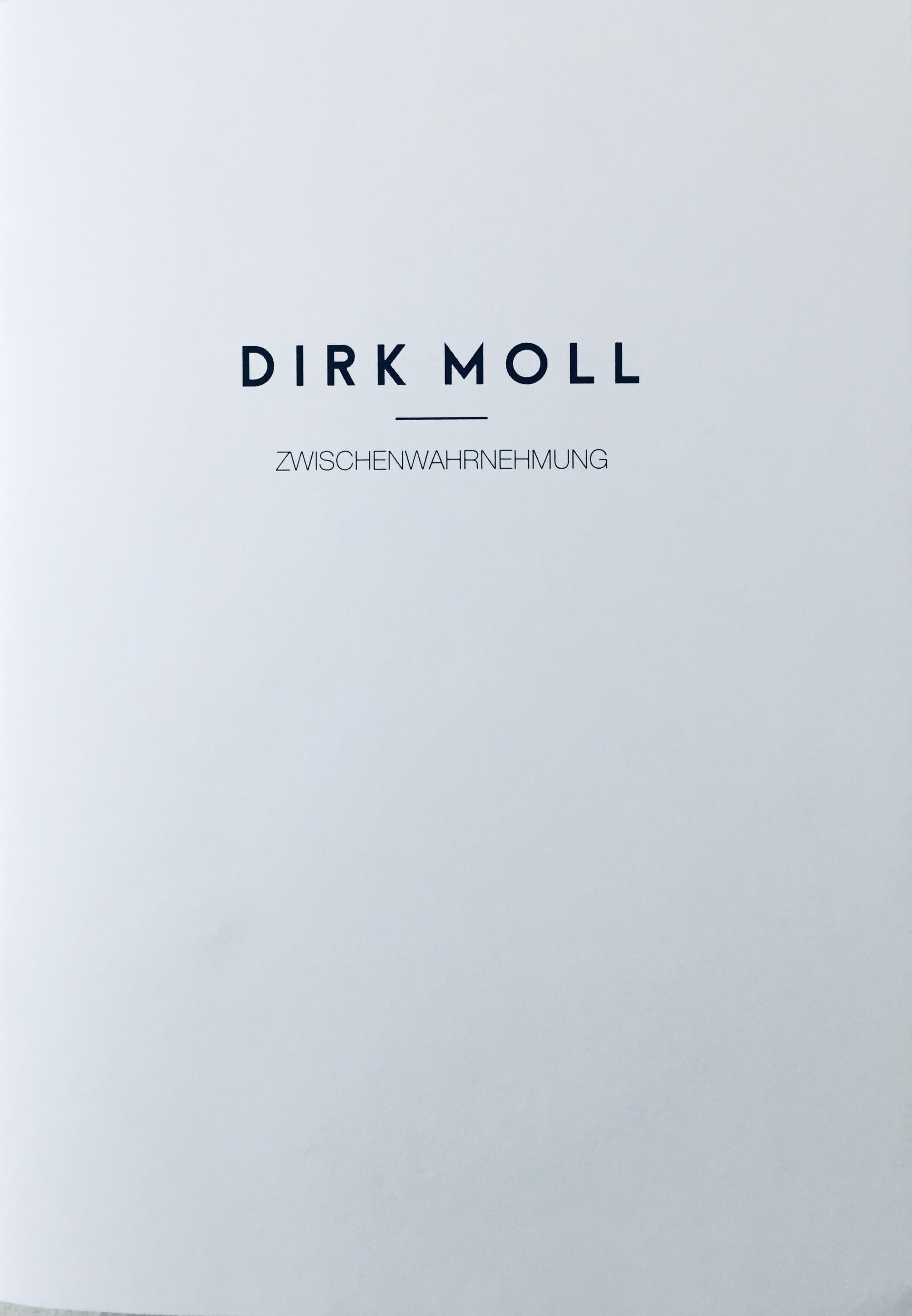 DIRK MOLL – ZWISCHENWAHRNEHMUNG