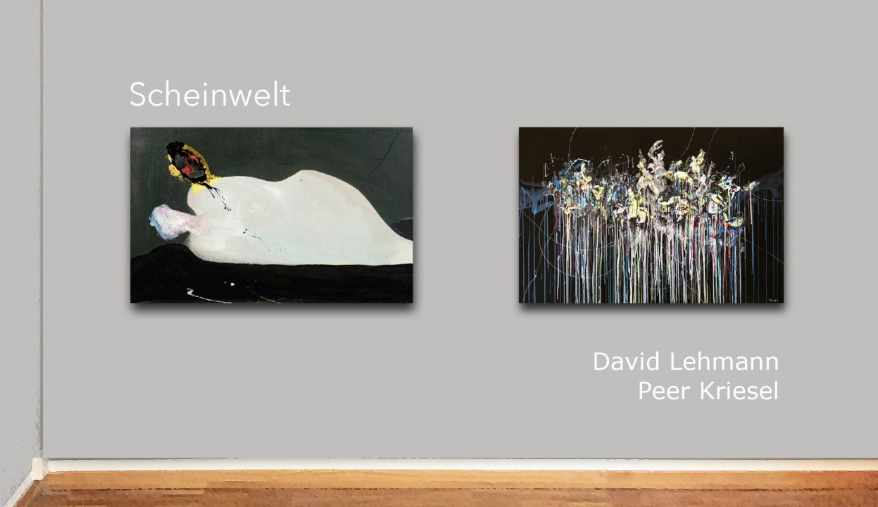 SCHEINWELT – DAVID LEHMANN UND PEER KRIESEL