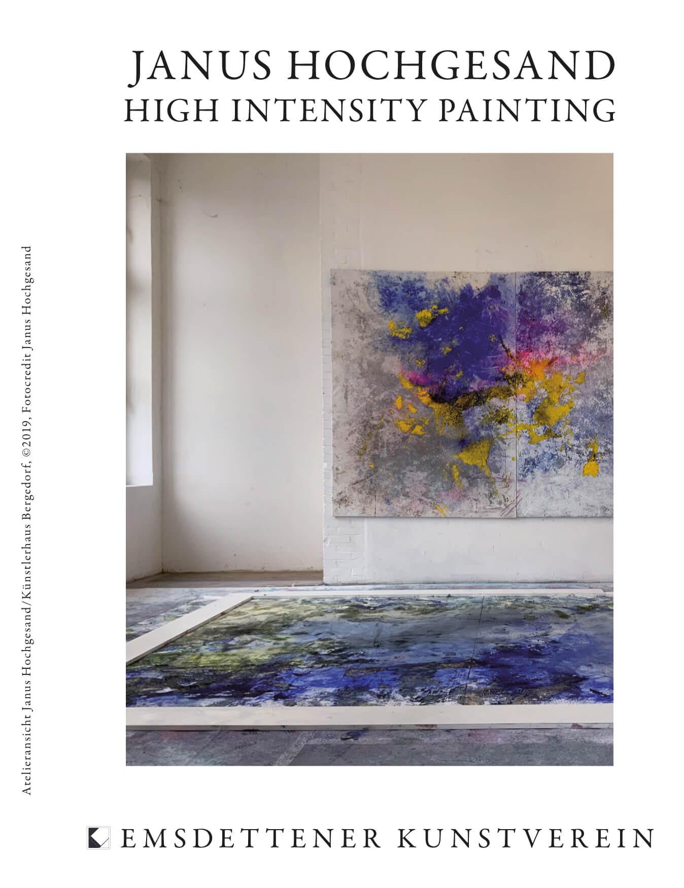 Ausstellungseröffnung JANUS HOCHGESAND – HIGH INTENSITY